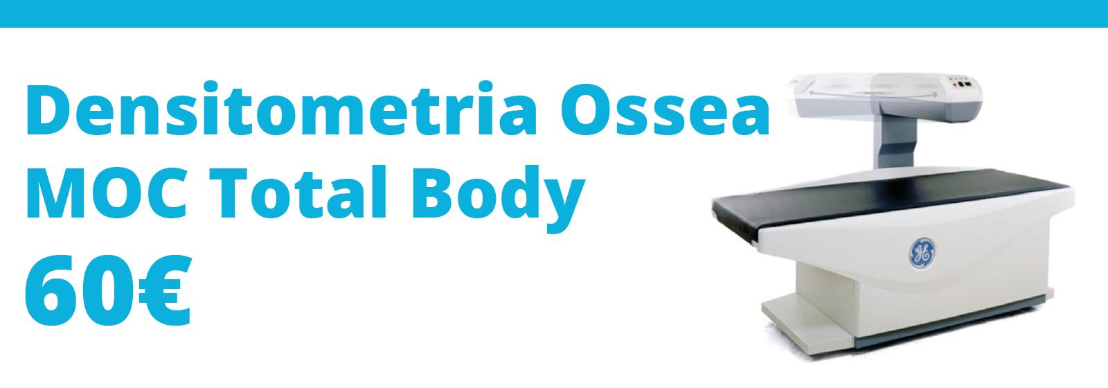 densitometria ossea MOC total body progetto salute clinica forlimpopopli